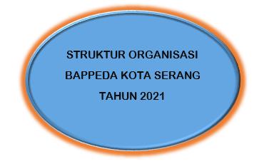 STRUKTUR ORGANISASI BAPPEDA KOTA SERANG TAHUN 2021