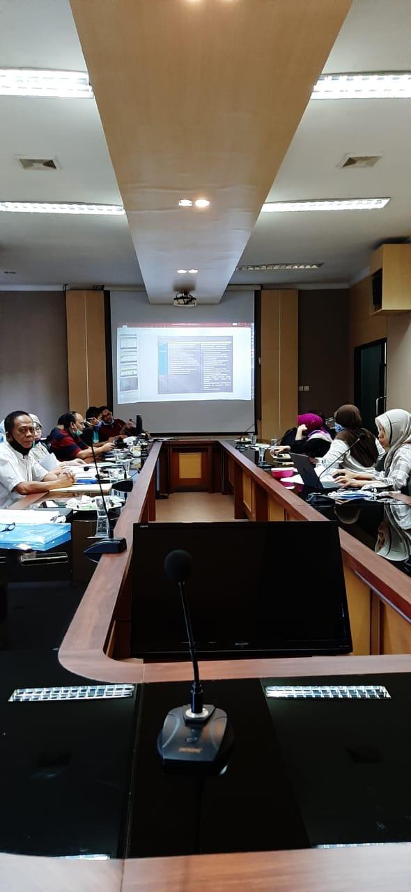 Penelaahan Renja PD Kota Serang Tahun 2021 OPD Mitra Bidang Perekonomian dan SDA