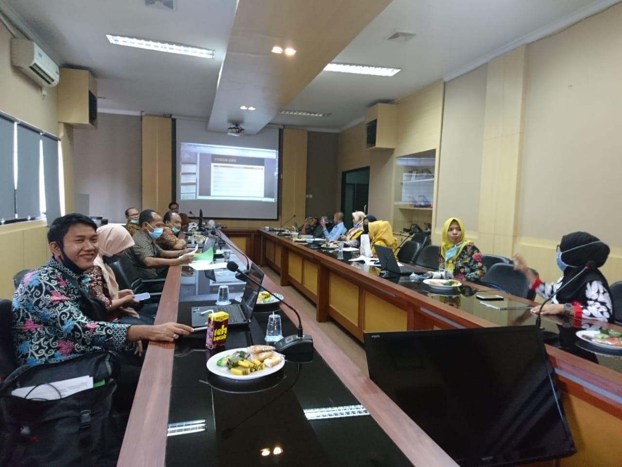 Penelaahan Renja PD Kota Serang Tahun 2021 OPD Mitra Bidang Pemerintahan dan Pembangunan Manusia