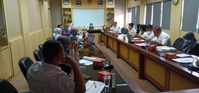 Rabu 24/03/2021. Asistensi Pembahasan RENSTRA & RENJA Tahun 2018-2023 di Ruang Rapat BAPPEDA Kota Serang