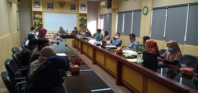 RAKOR Usulan Kegiatan APBN Melalui BPPW Banten