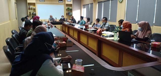 Kamis 25/03/2021. RAKOR Usulan Kegiatan APBN Melalui BPPW Banten