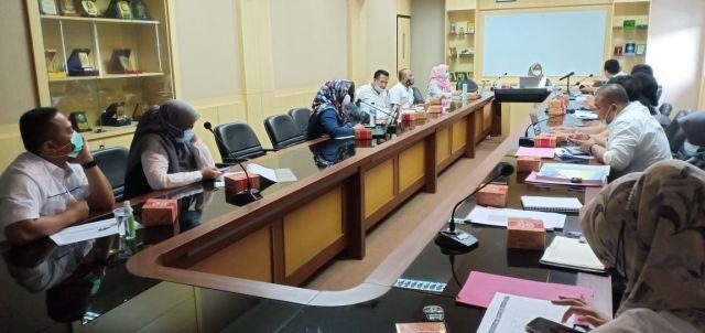 Asistensi Pembahasan RENSTRA & RENJA Tahun 2018-2023 di Ruang Rapat BAPPEDA Kota Serang