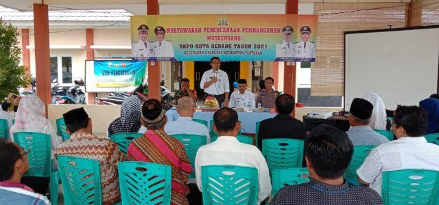 Rabu 08/01/20. Musrenbang Kelurahan Drangong, Kecamatan Taktakan - Kota Serang