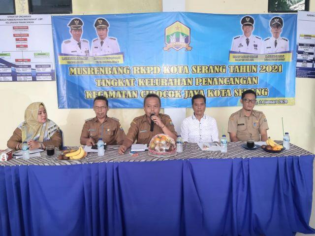 Selasa 14/01/20. Musrenbang Kelurahan Panancangan, Kecamatan Cipocok Jaya - Kota Serang