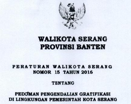 PERWAL GRATIFIKASI